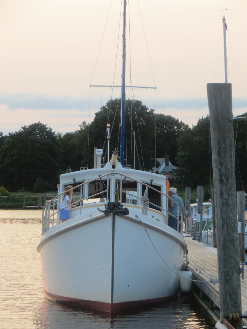 Duck Boats For Sale >> 40' Diesel Duck Cruising Trawler - Midcoast Yacht & Ship ...
