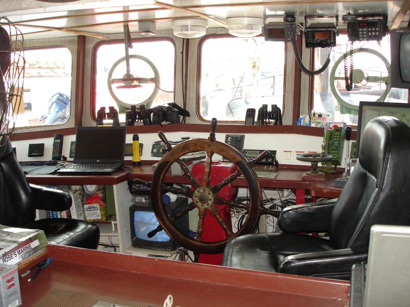 90' North Sea Trawler Expedition Vessel 12 Pax COI For Sale