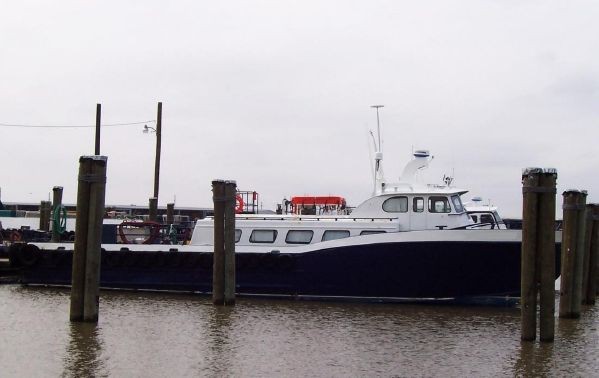 70' Breaux Bay Aluminum Crew Boat 32 Pax For Sale