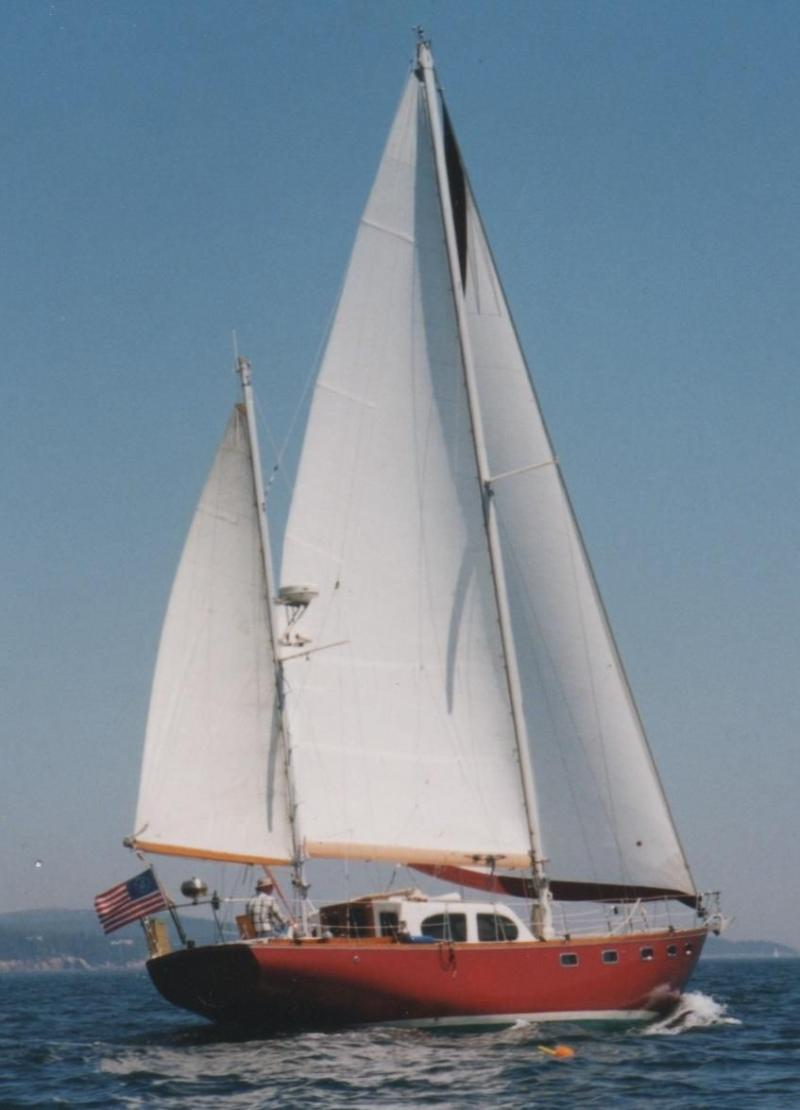 44' Pearson Countess Ketch For Sale
