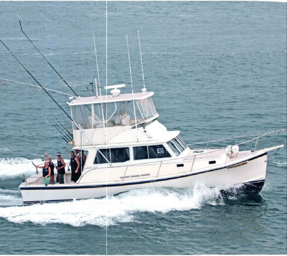 36' Wayne Beal Downeast Lobster Yacht For Sale