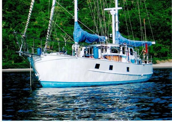 52' Pilothouse Ketch 1980 -  Steel Sailboat For Sale