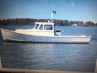 34' South Shore Lobster Boat For Sale