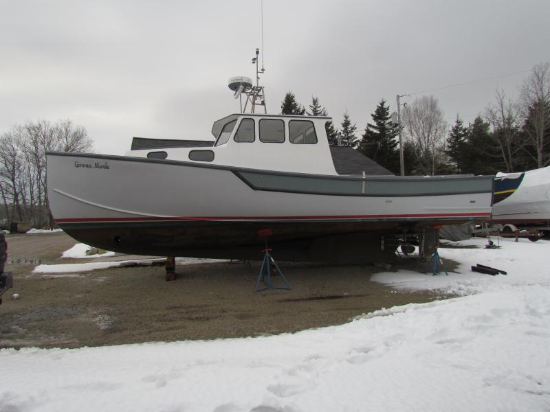 35' Terry Jason Lobster Boat For Sale