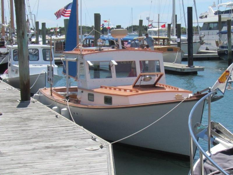 30' Ralph Stanley Downeast Lobster Yacht For Sale