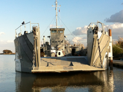 119' Landing Craft Utility LCU RORO Cargo Vessel For Sale
