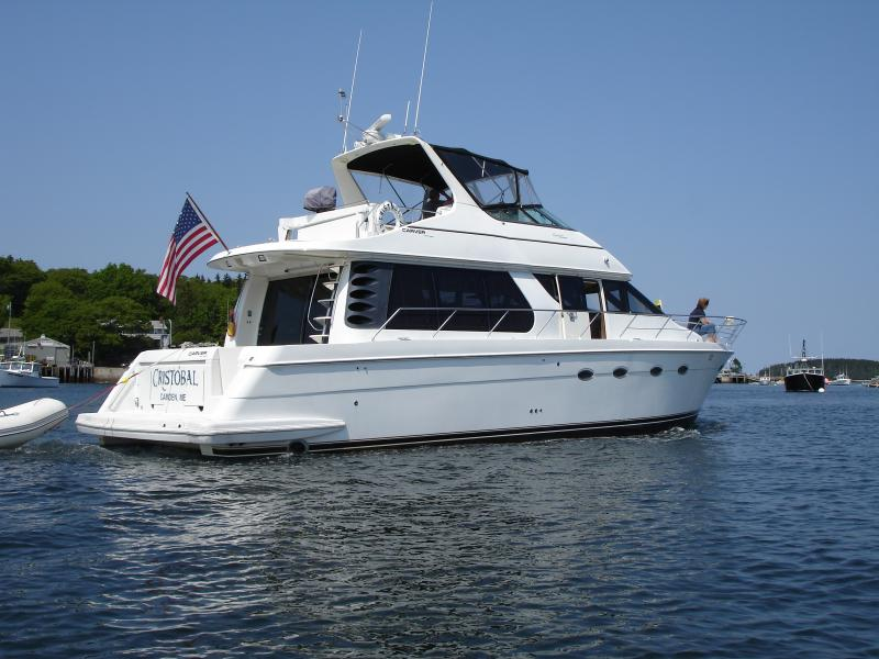 53' Carver Voyager Pilothouse Sport Cruiser For Sale