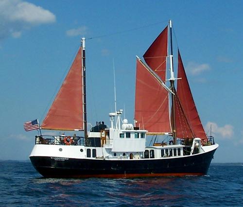 90' North Sea Trawler Expedition Vessel 12 Pax COI For Sale