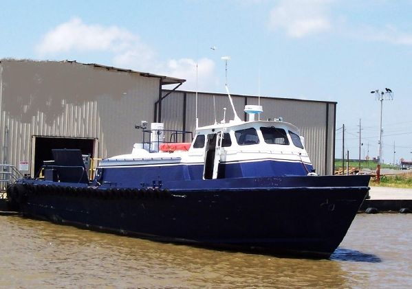 65' Stewart Aluminum Crew Boat - 23 Knots For Sale