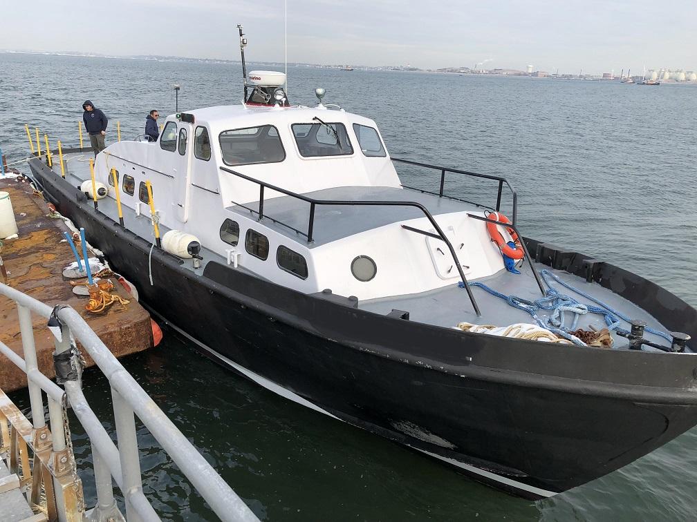 63' Aluminum Crew Boat For Sale