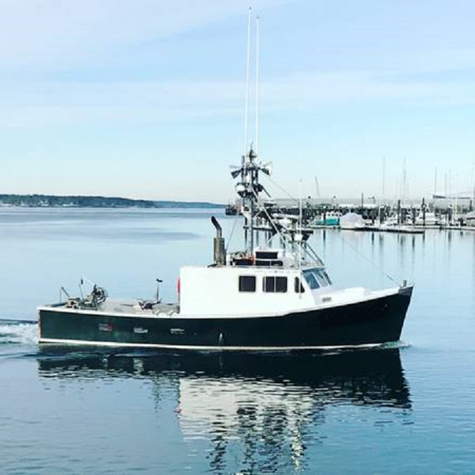 45' Dixon Offshore Lobster Boat with GreenStick For Sale