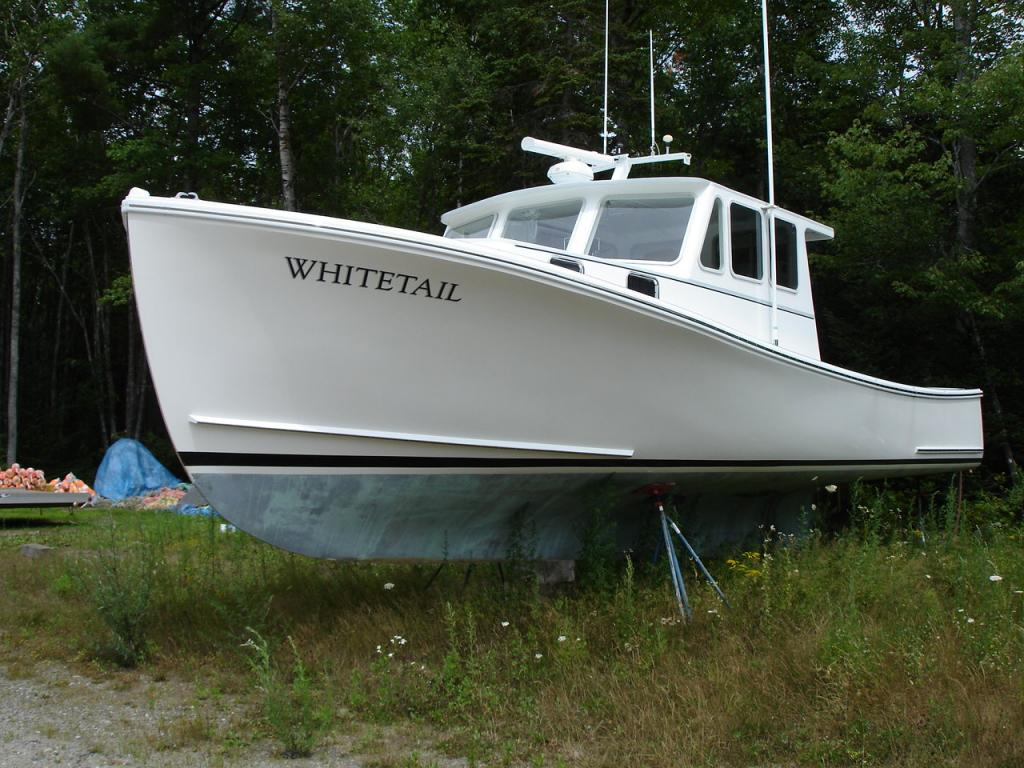 Lowell Brothers Lobster Boat Open Stern For Sale
