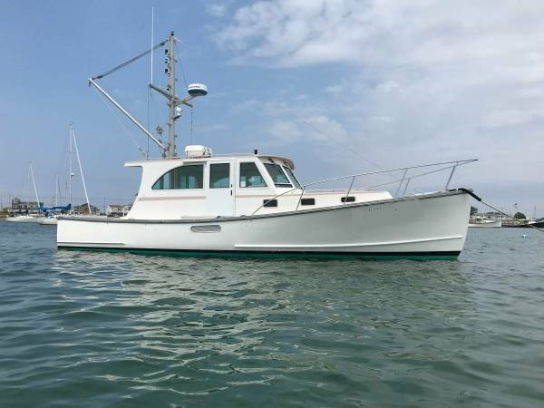 38' Holland Downeast Lobster Yacht For Sale