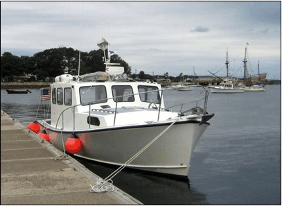 35' Custom Five Islands Downeast Cruising Yacht For Sale