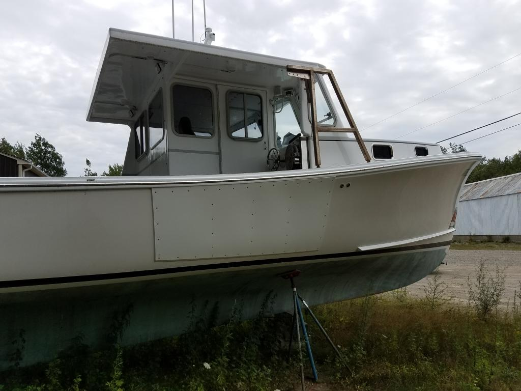 38' Lowell Brothers Lobster Tuna Sportfish Boat For Sale
