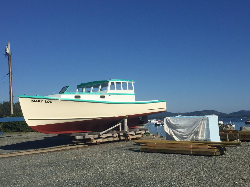 37' Bunker & Ellis Classic Downeast Lobster Yacht for sale