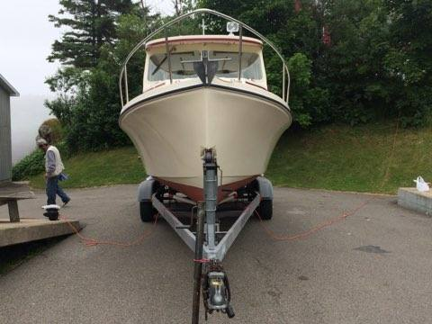 22' Rosborough Downeast Cruiser 1998 For Sale with Trailer