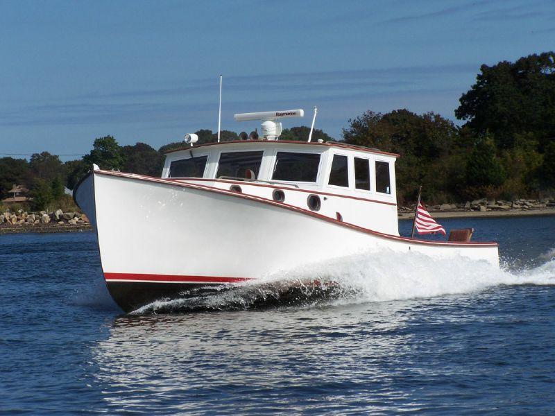38 Holland Downeast Cruiser Lobster Yacht