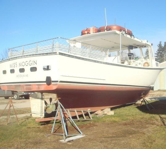 36' BHM Passenger Downeast Lobster Style - COI for 30 plus 2 Crew
