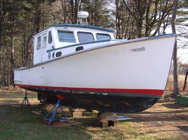 36' Jarvis Newman Downeast Boat - Former State of Maine Vessel