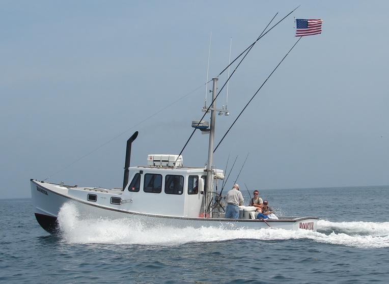 36' Stanley Downeast Lobster Commercial Sport Fishing