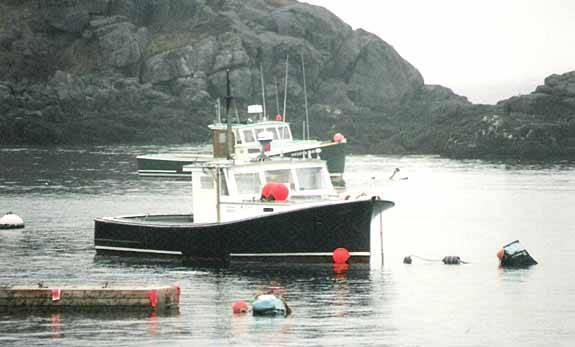 35' McPhearson Downeast Lobster Boat