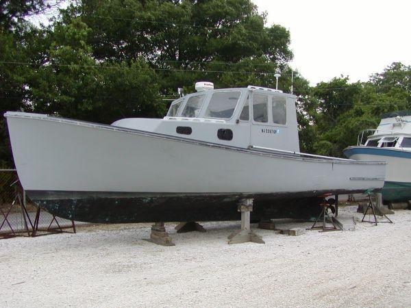 35' Five Islands Downeast Lobster Boat