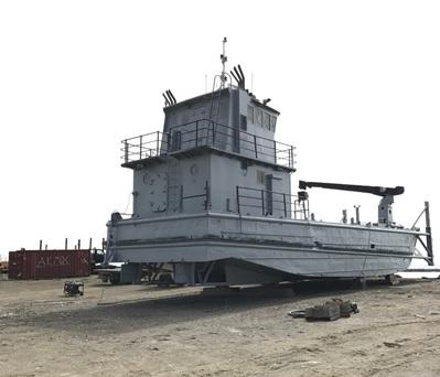 65' Steel Landing Craft For Sale