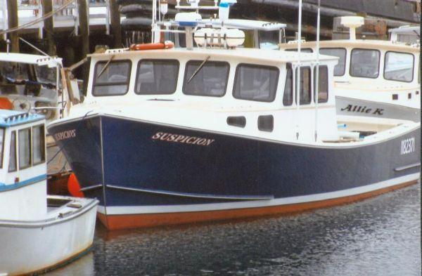 40' RP Offshore Lobster Boat