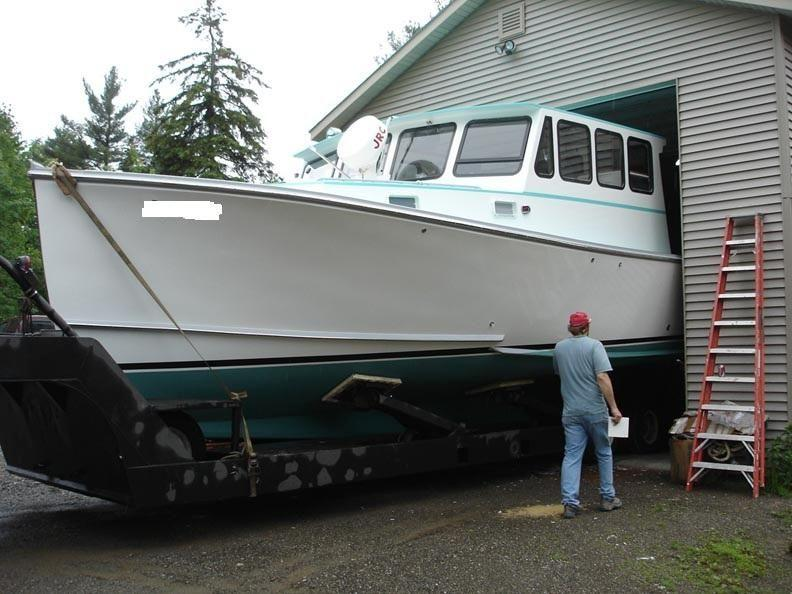 38' Calvin Beal Lobster Yacht Downeast Cruiser