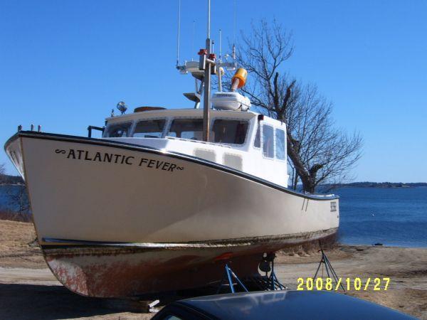 37' MDI Lobster Boat