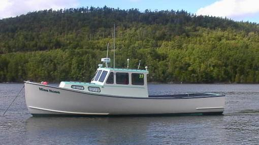 36' Northern Bay Lobster Boat