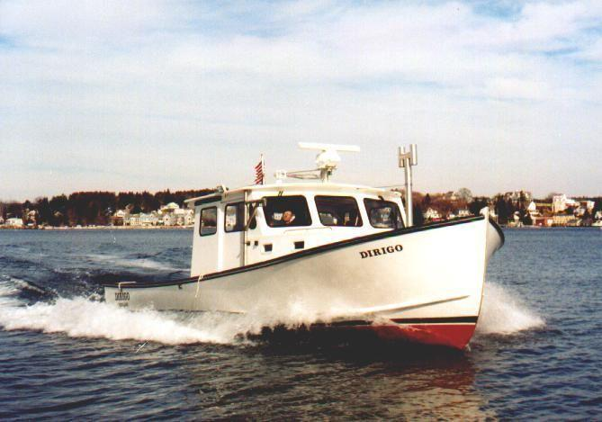 35' Young Brothers Lobster Boat - Marine Patrol