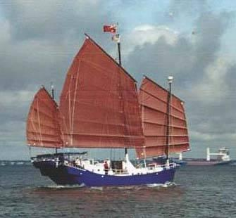 60' Colvin Chinese Junk