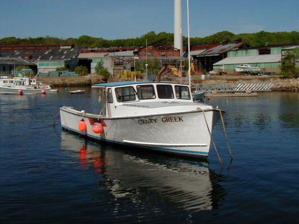38' Calvin Beal Lobster Boat