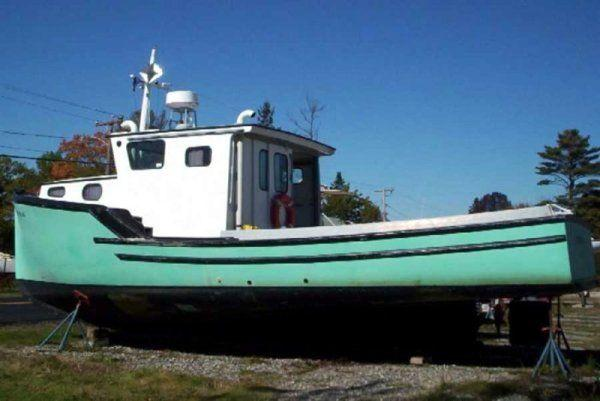 36' Novi Lobster Boat