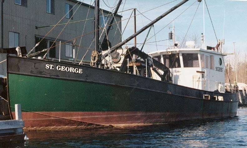 60' Steel Fishing Vessel Mussel Dragger