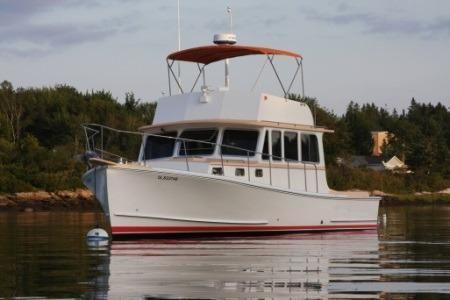 36' Calvin Beal Lobster Yacht