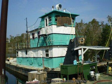 60' Push Boat Tug
