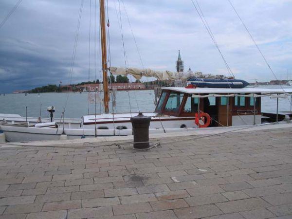 55' Motorsailer by Cantieri Lonzar - Classic Sailing Yacht