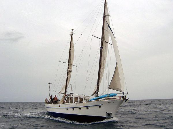 50' Kerstholt Pilot House Ketch