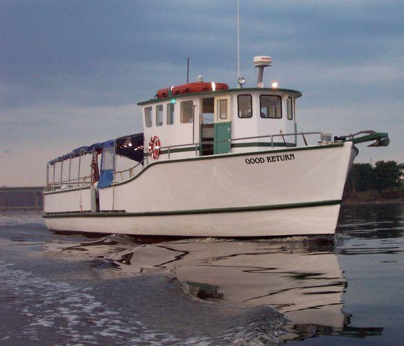 50' Ernest Brierley Passenger Boat COI 47