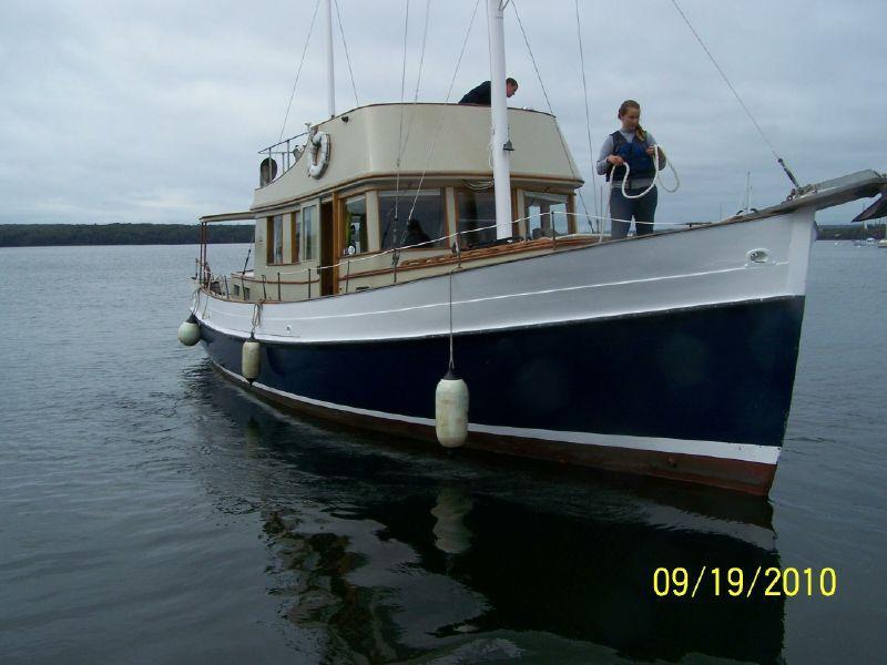 45' Eldredge & McGinniss Fly Bridge Trawler