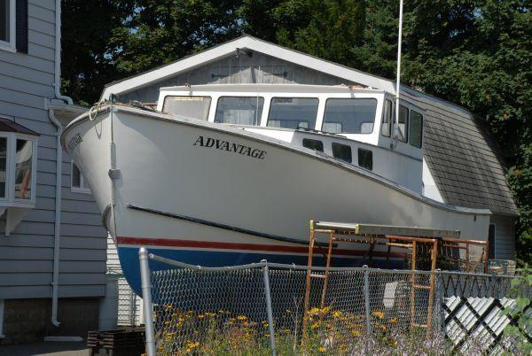 40' Young Brothers Commercial Lobster Boat