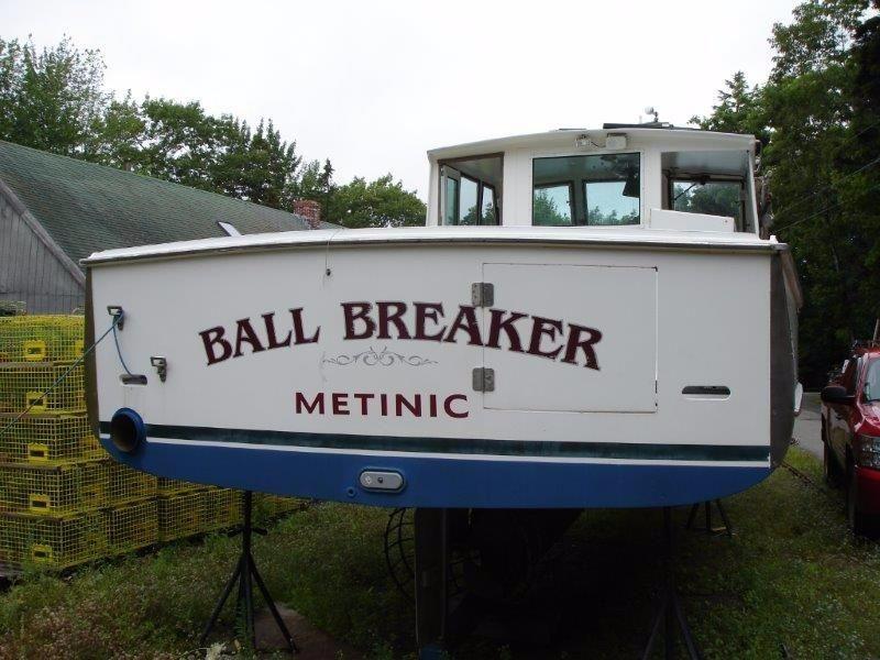 38' Holland Lobster Boat