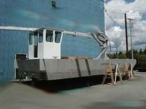 35' Work Barge