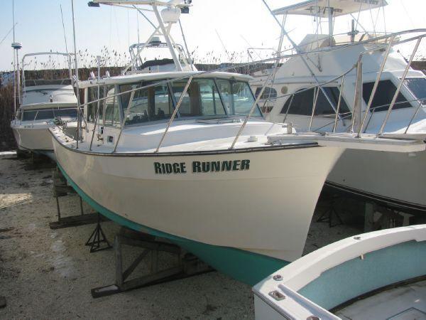 35' Henriques Downeast Sportfish Cruiser