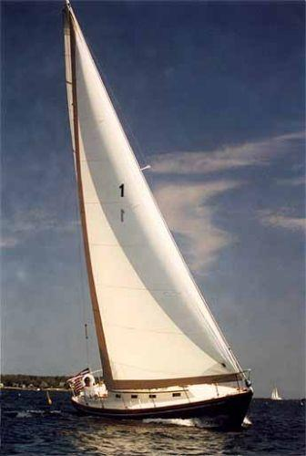 35' Intrepid Sloop - McCurdy & Rhodes - Built by Cape Dory