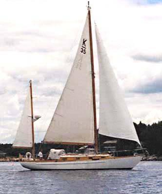 35' Sparkman & Stephens Built by Knutson Boatyard