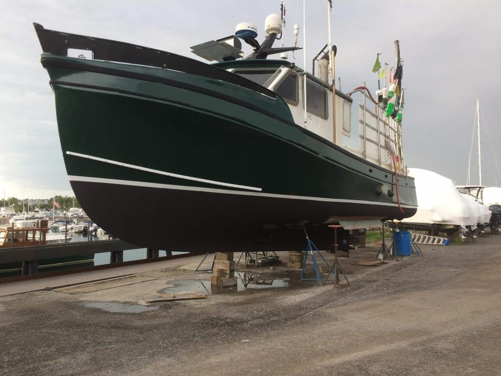 50' Jarvis Newman Lobster Boat For Sale